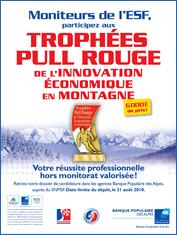 """Trophée """"Pulls Rouges"""" de l'innovation économique en montagne"""