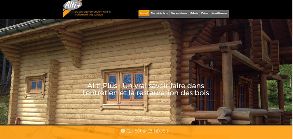 Ouverture du site internet Alti +